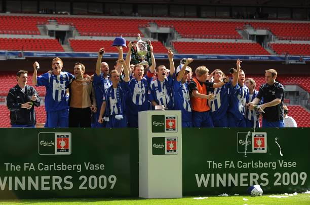 Soccer Fa Vase Final Glossop North End V Whitley Bay Wembley