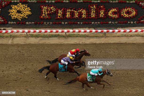 Whitmore ridden by Ricardo Santana Jr wins the 31st Running of The Maryland Sprint Stakes at Pimlico Race Course on May 20 2017 in Baltimore Maryland
