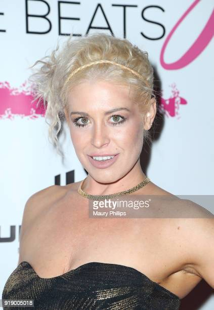 Whitney Bowers attends the 2018 Beauty The Beats Celebrity Party and Panel Discussion at Dream Magic Studios on February 15 2018 in Canoga Park...