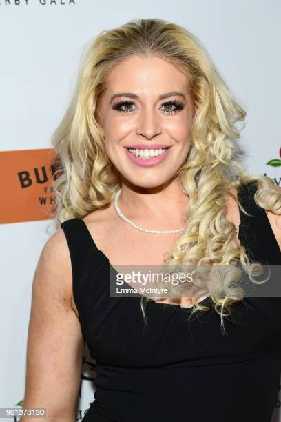 Whitney Bowers attends the SixthAnnual Star Studded Unbridled Eve Gala at Bardot on January 4 2018 in Hollywood California