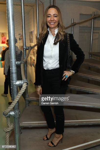 Whitney Bromberg Hawkings attends a cocktail party hosted by Laura Bailey and Zanzan at Alex Eagle on November 9 2017 in London England