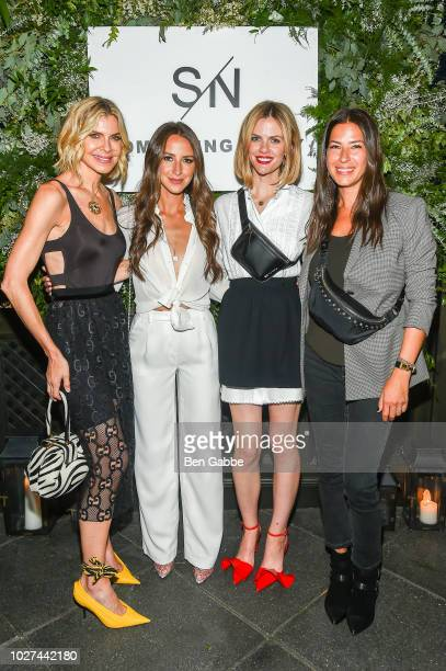 Whitney Casey Arielle Charnas Brooklyn Decker and Rebecca Minkoff attend Nordstrom's SOMETHING NAVY Brand Launch Dinner At The Gramercy Park Hotel on...