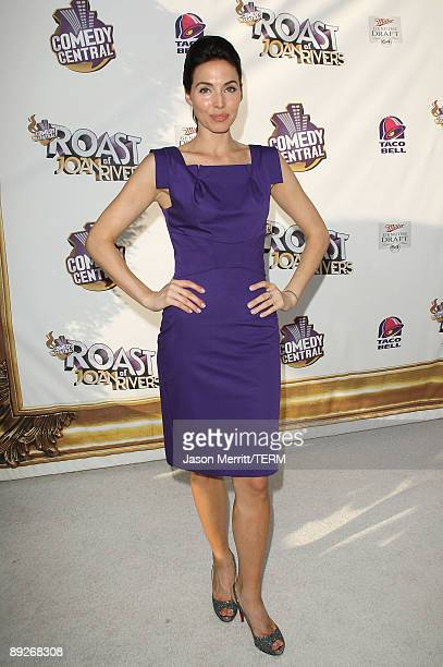 Whitney Cummings arrives at Comedy Central's Roast of Joan Rivers at CBS Radford Studios on July 26 2009 in Studio City California