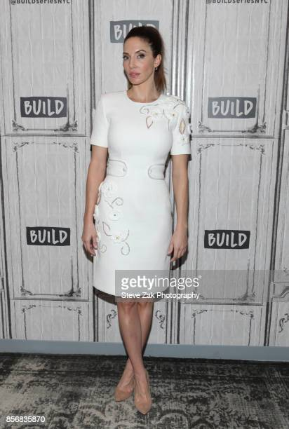 Whitney Cummings attends Build Series to discuss 'I'm FineAnd Other Lies' at Build Studio on October 2 2017 in New York City