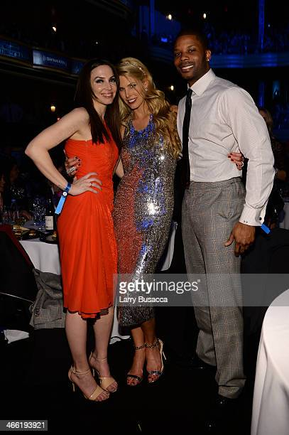 Whitney Cummings Beth Ostrosky Stern and Kerry Rhodes attend 'Howard Stern's Birthday Bash' presented by SiriusXM produced by Howard Stern...