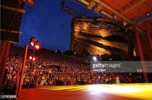 Whitney Cummings performs during the opening night of SeriesFest at Red Rocks Amphitheatre on June 18 2015 in Morrison Colorado