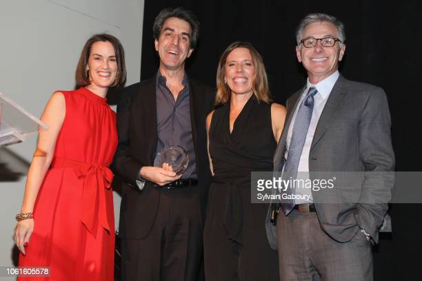 Whitney Donhauser Jason Robert Brown Tracey Pontarelli and Jamie Dinan attend Museum Of The City Of New York Louis Auchincloss Prize Gala at Museum...