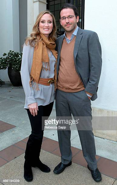 Whitney H Douglas and director Alex Douglas attend screening of The Passage at the Santa Barbara Museum of Art at the 29th Santa Barbara...