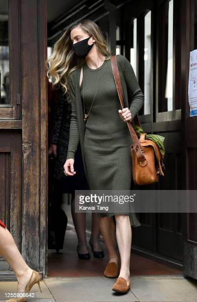 Whitney Heard, sister of Amber Heard, attends day 5 of Johnny Depp's libel case against The Sun Newspaper at the Royal Courts of Justice, Strand on...
