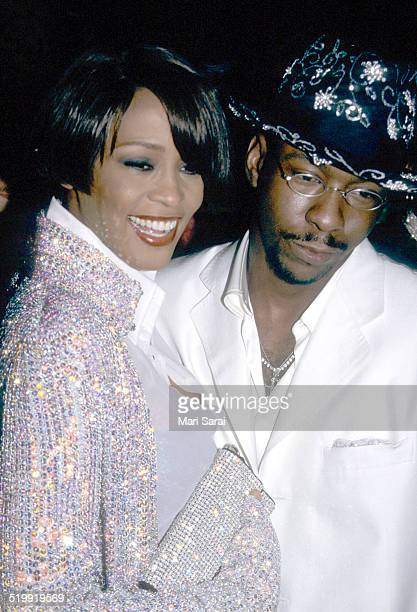 Whitney Houston and Bobby Brown at the Metropolitan Museum's Costume Institute gala exhibition New York New York December 6 1999