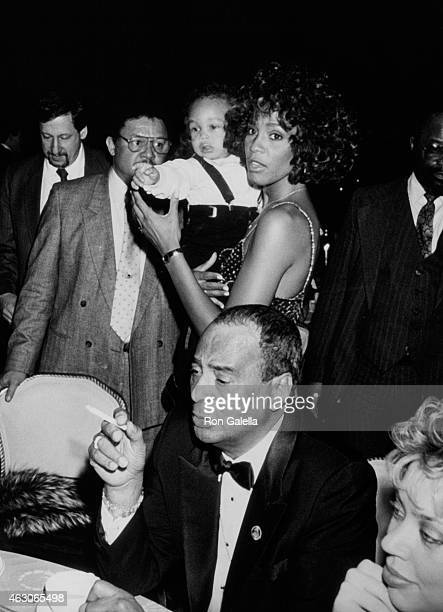 Whitney Houston attends 30th Annual Grammy Awards on March 2 1988 at Radio City Music Hall in New York City