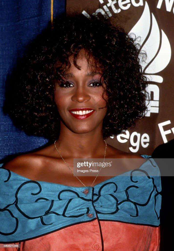 Whitney Houston circa 1988 in New York City.