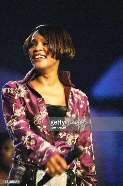 Whitney Houston during 1999 MTV Europe Music Awards.