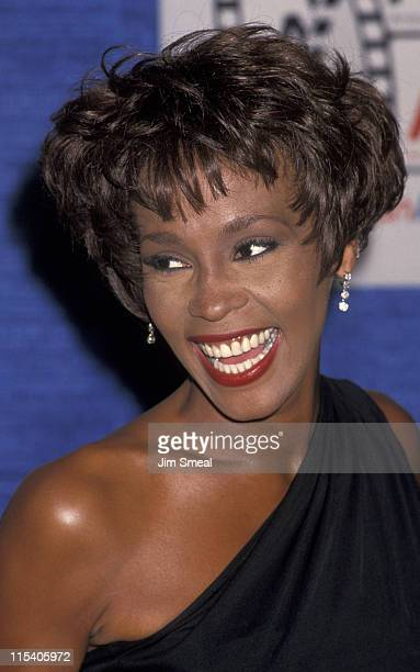 Whitney Houston during 8th Annual American Cinema Awards at Beverly Hilton Hotel in Beverly Hills, California, United States.