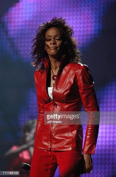 Whitney Houston during MTV European Music Awards 2002 MTV European Music Awards 2002 at Palau Sant Jordi in Barcelona, Spain.