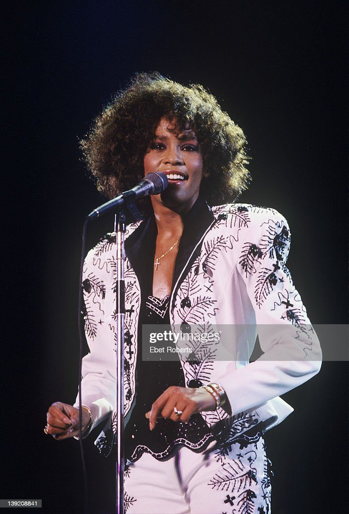 Whitney Houston : News Photo
