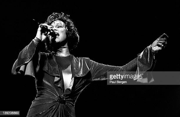 Whitney Houston performs on stage at Mecc Maastricht Netherlands 23rd October 1993