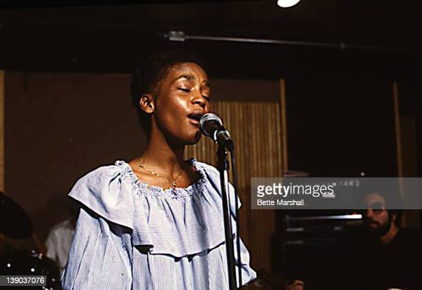 Whitney Houston performs 'Tomorrow' from Annie during her first label audition She performed for Bruce Lundvall then President of Elektra Records...