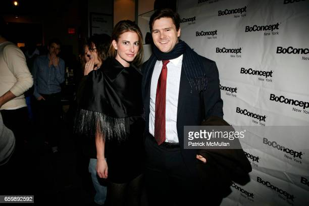 Whitney Larkin and Stonington Cox attend 7th Annual BoCONCEPT/KOLDESIGN Holiday Party at Bo Concept Madison Ave on December 15 2009 in New York