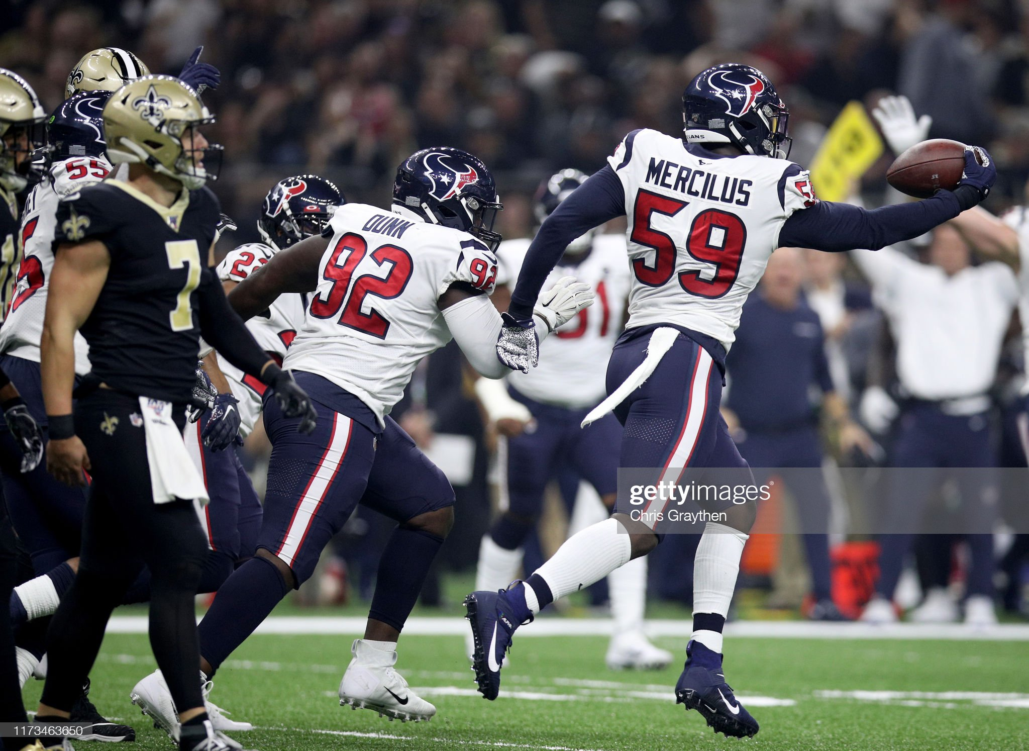 Houston Texans v New Orleans Saints : News Photo