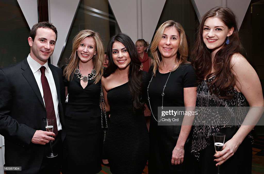 Whitney Mishler, Naysa Mishler, Jasmine Ruiz, Susan O'Connor and Emily Kaczmarek attend the Gotham Magazine & Moroccanoil Celebrate With Step Up Women's Network event on February 18, 2013 in New York City.