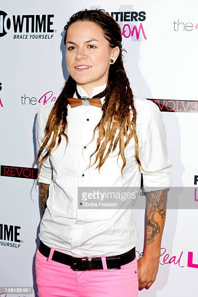 Whitney Mixter attends the season 3 premiere of Showtime's 'The Real L Word' held at Revolver on July 17 2012 in West Hollywood California