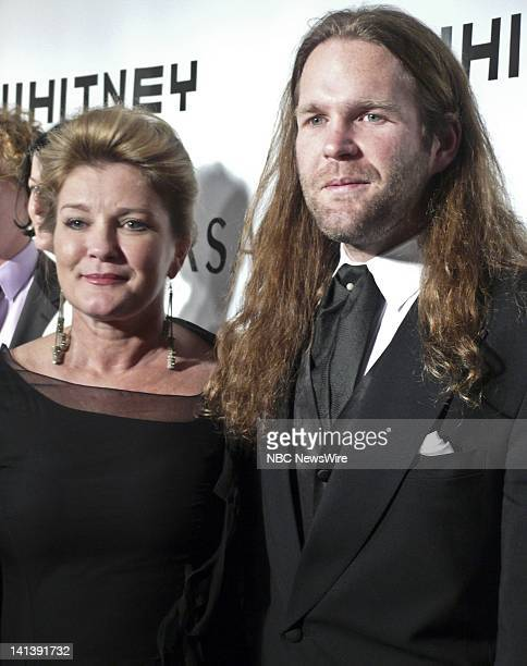 Whitney Museum of American Art Gala Pictured Actress Kate Mulgrew and son/artist Alec Egan arrive at the 2008 Whitney Museum of American Art Gala...