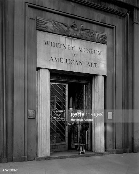 Whitney Museum of American Art on 8th Street Greenwich Village New York circa 1945