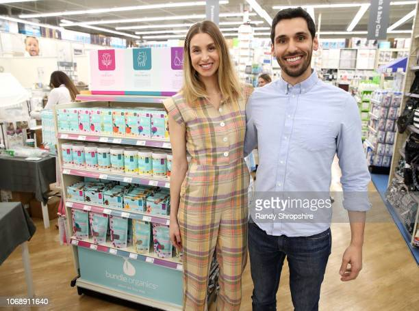 Whitney Port and Founder CEO Bundle Organics John Mascari attend the Whitney Port Bundle Organics #MomAsYouAre buybuyBABY product launch on November...