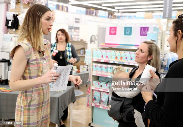 Whitney Port and guests attend the Whitney Port Bundle Organics #MomAsYouAre buybuyBABY product launch on November 17 2018 in Torrance California on...