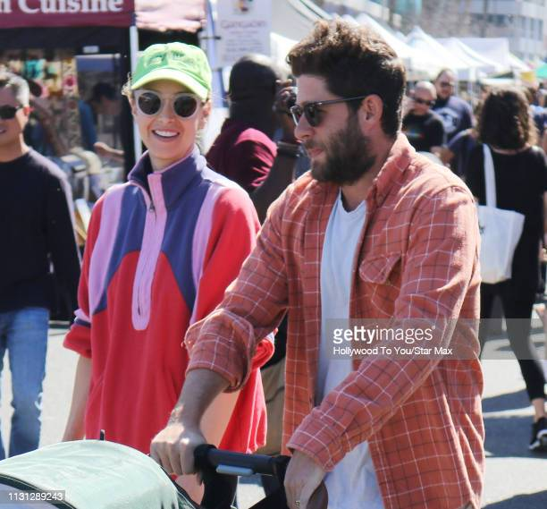 Whitney Port and Tim Rosenman are seen on March 17 2019 in Los Angeles