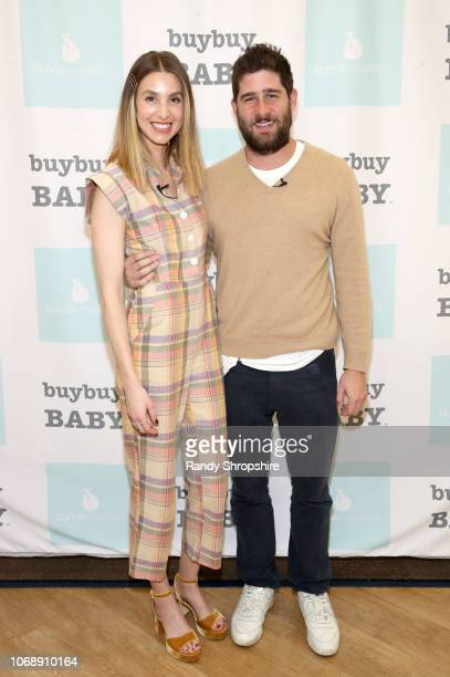 Whitney Port and Tim Rosenman attend the Whitney Port Bundle Organics #MomAsYouAre buybuyBABY product launch on November 17 2018 in Torrance...