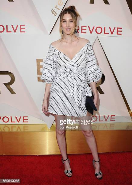 Whitney Port arrives at #REVOLVEawards at DREAM Hollywood on November 2 2017 in Hollywood California