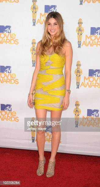 Whitney Port arrives at the 2010 MTV Movie Awards at Gibson Amphitheatre on June 6 2010 in Universal City California