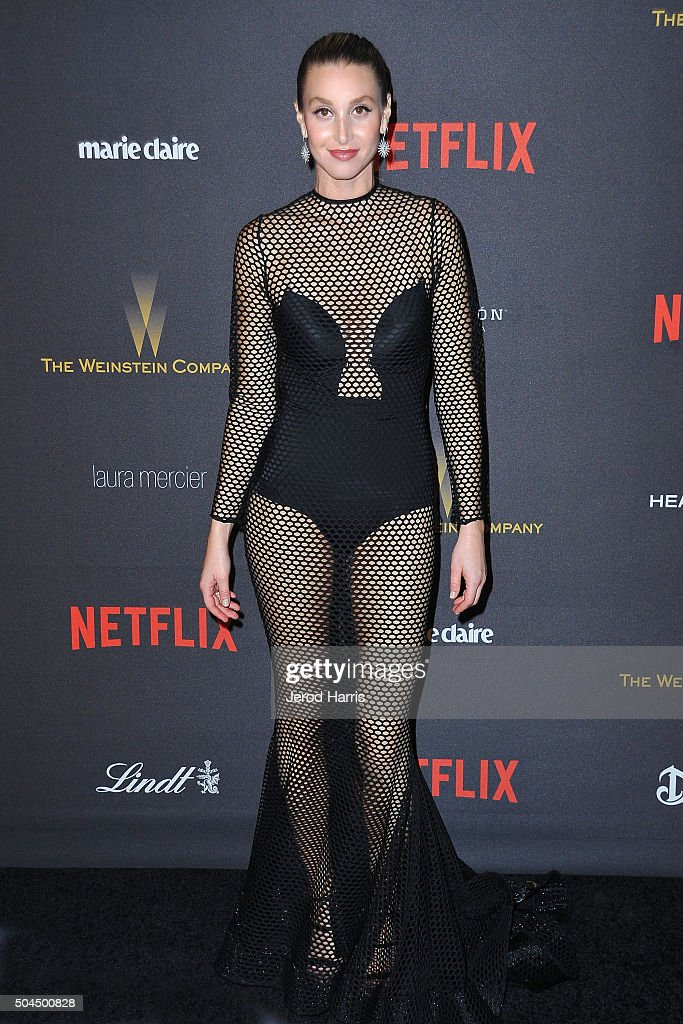 2016 Weinstein Company And Netflix Golden Globes After Party - Arrivals : Foto jornalística