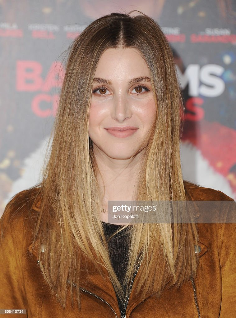 Whitney Port arrives at the Los Angeles Premiere of 'A Bad Moms Christmas' at Regency Village Theatre on October 30, 2017 in Westwood, California.