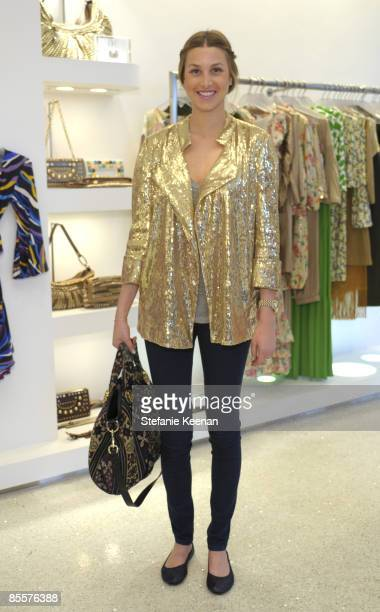 Whitney Port attends Diane Von Furstenberg and Elle's Celebration of International Women's Month on March 23 2009 in West Hollywood California