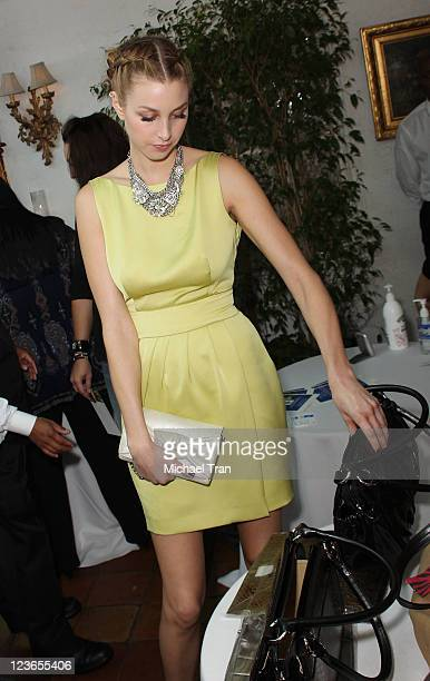 """Whitney Port attends KIIS FM's 7th Annual """"Pick Your Purse Party"""" held at Il Cielo on November 17, 2010 in Beverly Hills, California."""