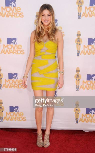 Whitney Port attends the 2010 MTV Movie Awards at the Gibson Amphitheatre on June 6, 2010 in Universal City, California.