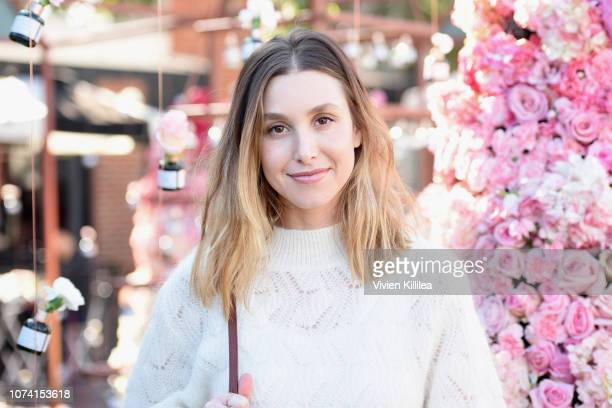 Whitney Port attends the Biossance's Miracle on Melrose at the Melrose Farmer's Market on December 16 2018 in Los Angeles California