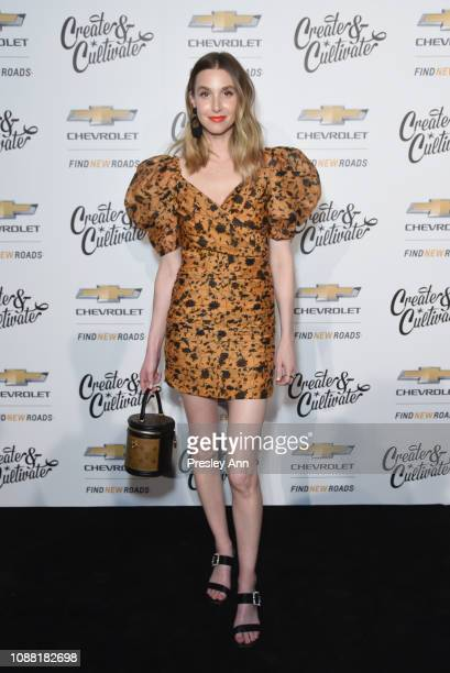 Whitney Port attends the Create Cultivate And Chevrolet Launch Event For The Create Cultivate 100 List on January 24 2019 in Los Angeles California
