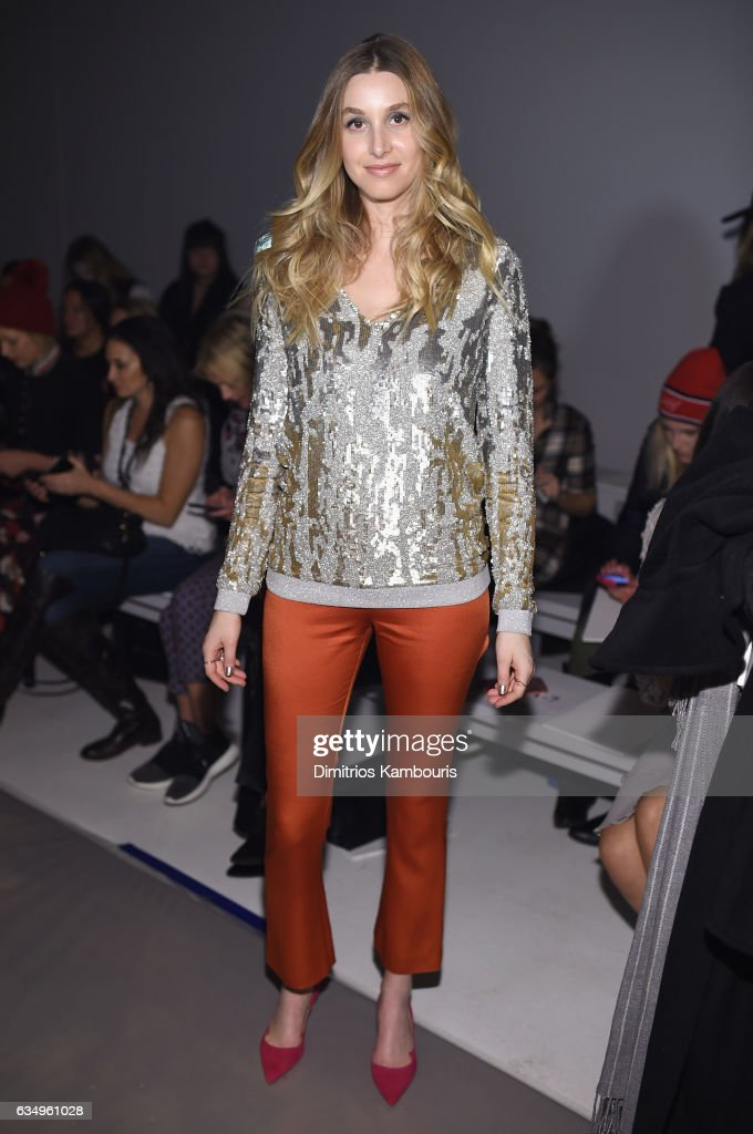 Jenny Packham - Front Row - February 2017 - New York Fashion Week: The Shows