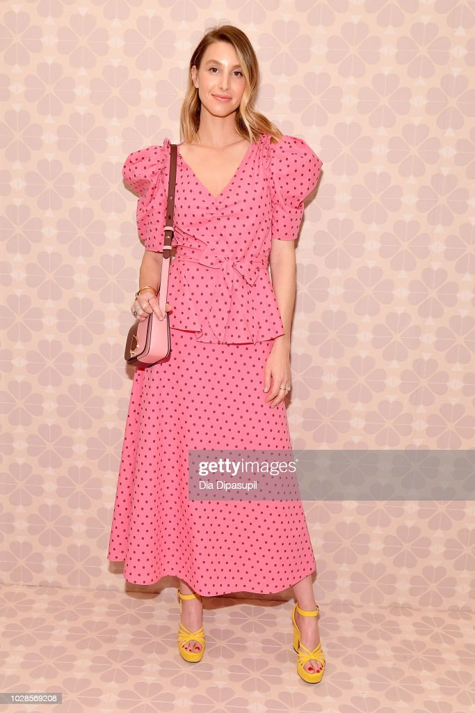 Whitney Port attends the Kate Spade New York Fashion Show during New York Fashion Week at New York Public Library on September 7, 2018 in New York City.