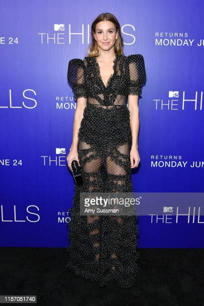 Whitney Port attends the premiere of MTV's The Hills New Beginnings at Liaison on June 19 2019 in Los Angeles California