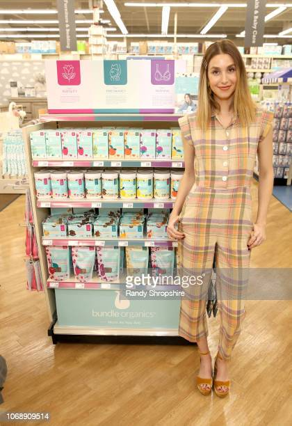 Whitney Port attends the Whitney Port Bundle Organics #MomAsYouAre buybuyBABY product launch on November 17 2018 in Torrance California on November...