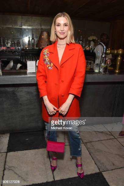 Whitney Port celebrates with Belvedere Vodka at Vanity Fair and Lancome Paris Toast Women in Hollywood hosted by Radhika Jones and Ava DuVernay on...
