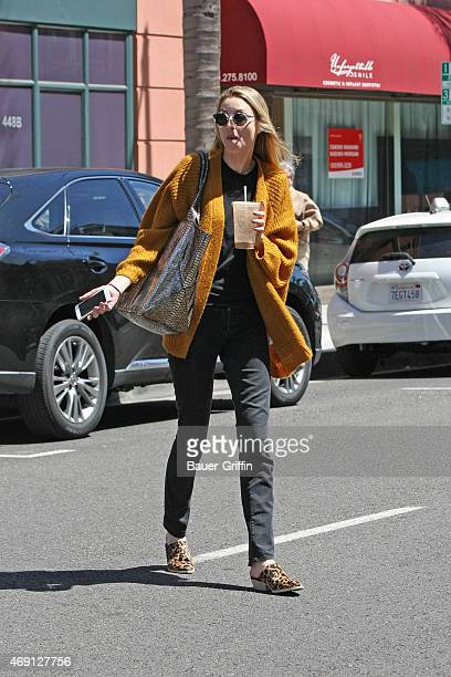 Whitney Port is seen on April 08 2015 in Los Angeles California