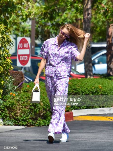 Whitney Port is seen on June 08, 2021 in Los Angeles, California.