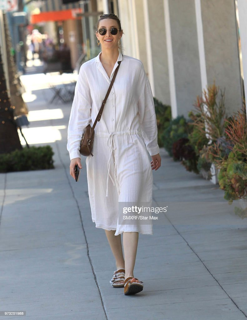 Whitney Port is seen on June 12, 2018 in Los Angeles, CA.