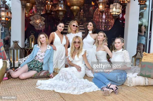 Whitney Port Olivia Culpo Paris Hilton Rachel Zoe Victoria Justice Sara Foster and Erin Foster attends ZOEasis 2018 at Parker Palm Springs on April...